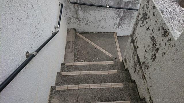 2階までの階段