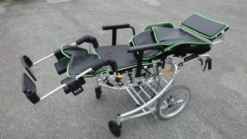 mikiリクライニング車椅子ネクストローラー